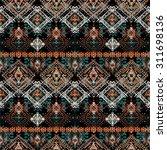 ethnic seamless pattern. ethno... | Shutterstock .eps vector #311698136