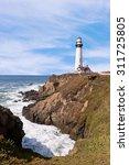 Pigeon Point Lighthouse Ocean...