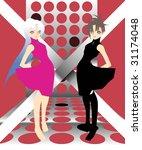 it is a japanese comics like... | Shutterstock .eps vector #31174048