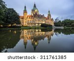 city hall of hannover  germany... | Shutterstock . vector #311761385