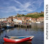 The Port Of Whitby In The...