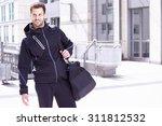 young man wearing sports wear...   Shutterstock . vector #311812532