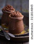 healthy vegan chocolate pumpkin ... | Shutterstock . vector #311814845