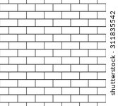 brickwork seamless pattern....   Shutterstock .eps vector #311835542
