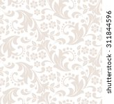 floral pattern. wallpaper... | Shutterstock .eps vector #311844596