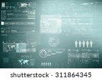 digital business background   Shutterstock . vector #311864345