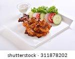 spicy chicken tikka   Shutterstock . vector #311878202