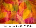 Autumn Leaves Texture. Abstrac...