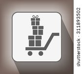 pictograph of gift | Shutterstock .eps vector #311893502