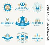 retro style labels  badges and... | Shutterstock .eps vector #311914565