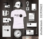 corporate identity business... | Shutterstock .eps vector #311923622