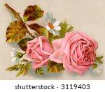 a bouquet of roses   circa 1890 ... | Shutterstock . vector #3119403