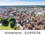 A View Over The City Of York In ...