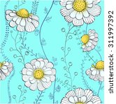 background daisies | Shutterstock .eps vector #311997392