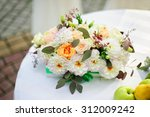 elegant flower arrangement n... | Shutterstock . vector #312009242