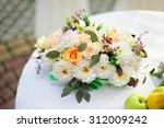 elegant flower arrangement n...   Shutterstock . vector #312009242