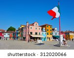 burano island  italy   may 01... | Shutterstock . vector #312020066