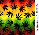seamless pattern of the hemp... | Shutterstock .eps vector #312021986