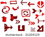 collection of design elements... | Shutterstock .eps vector #31205125