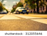 clear day in the big city  the... | Shutterstock . vector #312055646