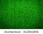green grass soccer field... | Shutterstock . vector #312061856