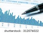 financial analysis concept | Shutterstock . vector #312076022