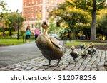 Boston Public Garden With Its...