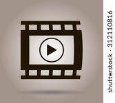 video icon  vector illustration | Shutterstock .eps vector #312110816