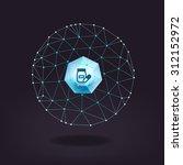 networking concept | Shutterstock .eps vector #312152972