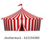 vector illustration of circus... | Shutterstock .eps vector #312154385