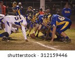 high school football scrimmage  ... | Shutterstock . vector #312159446