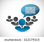 business coaching teamwork sign ...
