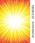 explosion  of stars | Shutterstock .eps vector #31218283