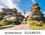 Weathered Brimham Rocks  ...