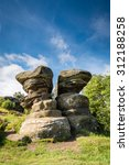 Twin Rocks At Brimham   Brimha...