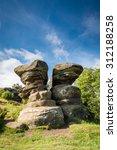 Twin Rocks At Brimham   Brimham ...