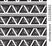 native tribal seamless pattern  ... | Shutterstock .eps vector #312202832