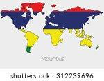 a flag illustration inside the... | Shutterstock .eps vector #312239696