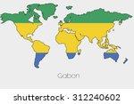 a flag illustration inside the... | Shutterstock .eps vector #312240602