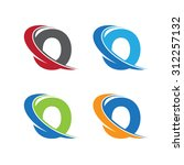 O Swoosh Letter Color Set