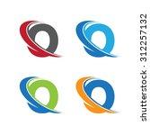 O Swoosh Letter Color Set