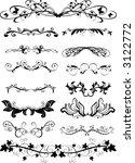 ornaments   vector | Shutterstock .eps vector #3122772