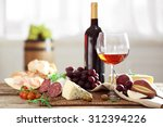 still life with various types... | Shutterstock . vector #312394226