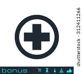 medical cross icon | Shutterstock . vector #312411266
