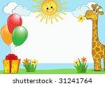 children's photo framework....   Shutterstock .eps vector #31241764