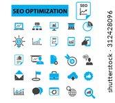 seo optimization  search engine ...   Shutterstock .eps vector #312428096