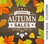Seasonal Autumn Sales...