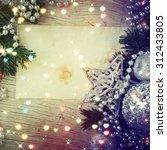 christmas background  | Shutterstock . vector #312433805