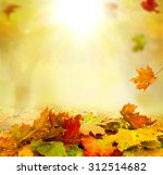 autumn background | Shutterstock . vector #312514682