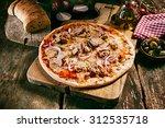 homemade tuna italian pasta... | Shutterstock . vector #312535718